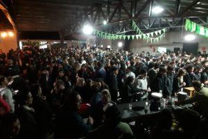 Una multitud se acercó a festejar el IPA Day