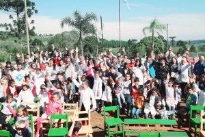 Escuelas rurales de San Pedro recibieron purificadores de agua