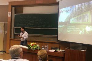 """Biofábrica presentó el laboratorio portable de cultivo """"in vitro"""", Phytolab en Europa"""