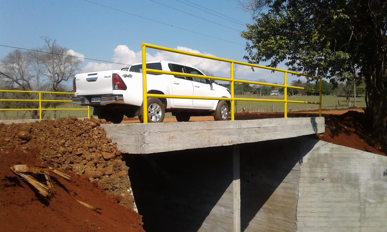 Vialidad concluyo las obras del puente sobre el arroyo Capioví