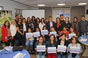 Mujeres jóvenes crearon soluciones tecnológicas con potencial de impacto social