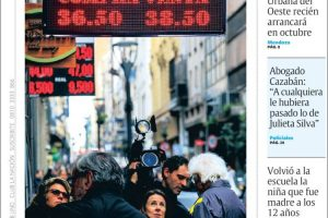 Las tapas del sábado 1/9: El dólar y la tensa espera de los anuncios del lunes