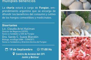 """Charla sobre """"Cultivo de Hongos en Misiones"""""""