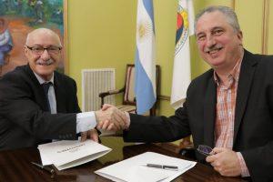 Passalacqua firmó convenios con el CFI por 82 millones de pesos para promover exportaciones y proyectos culturales