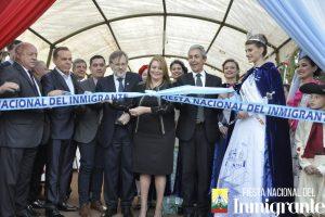 Multitudinario inicio de la XXXIX Fiesta Nacional del Inmigrante