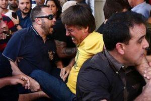 Apuñalaron a Jair Bolsonaro, candidato a la presidencia de Brasil