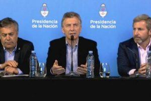 """Macri: """"Podemos ser los responsables de que esta sea la última crisis"""""""