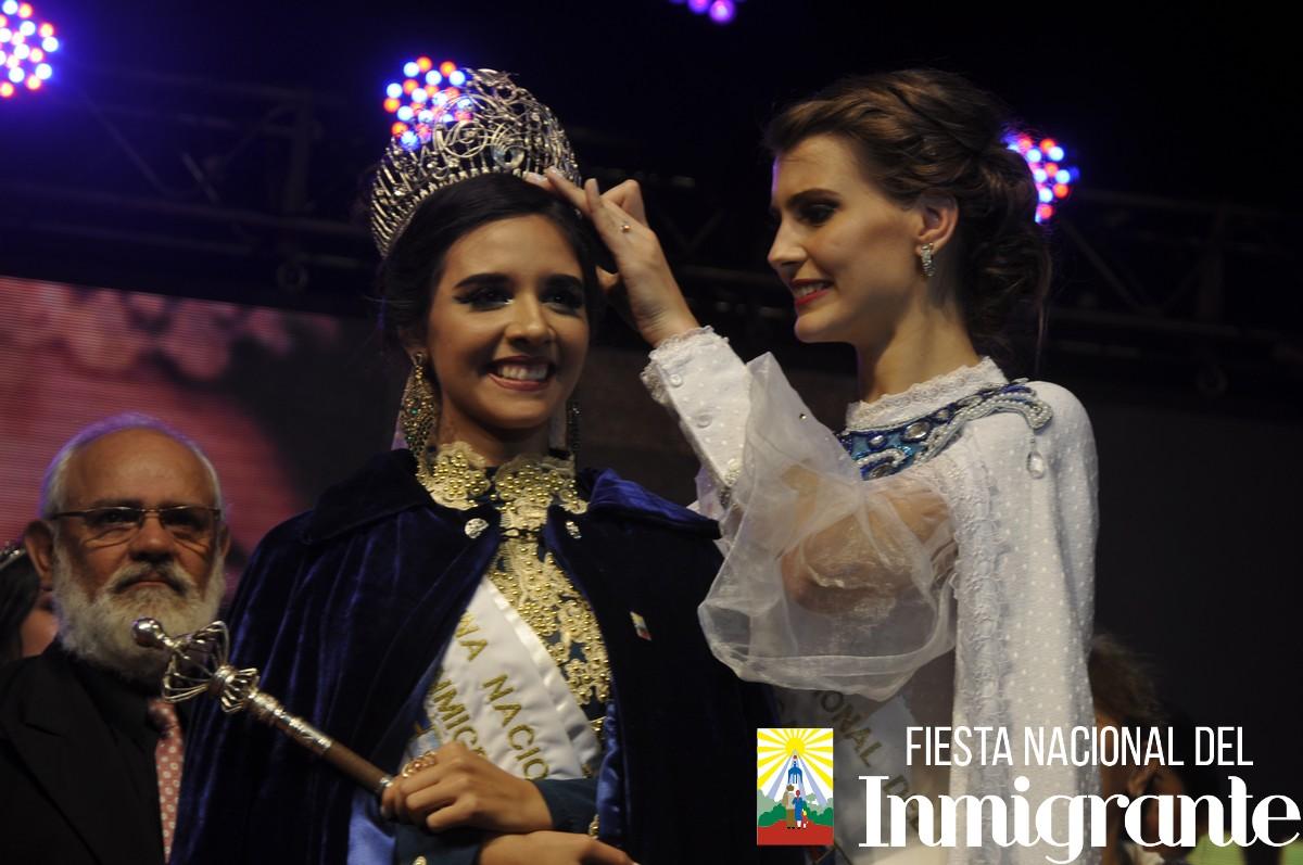 Dahiana Machado Sabbagh, de la colectividad árabe es la nueva reina nacional de los Inmigrantes