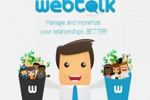 ¿Qué es Webtalk, la red social que promete pagar a sus usuarios?