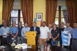 Promueven la reinserción social de internos del SPP a través del Rugby