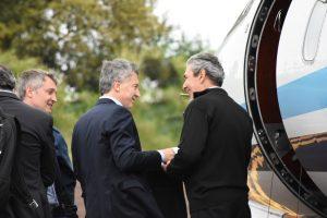 Intendentes de la zona Centro le reclamaron a Macri la concreción de un puente con Brasil