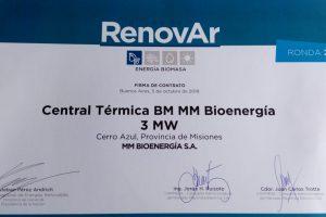 Misiones ya tiene su segundo proyecto Renovar: Molino Matile firmó contrato con CAMMESA y descongela millonario proyecto de inversión en Cerro Azul