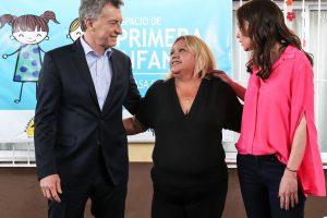 Macri inauguró un Espacio de Primera Infancia en Villa Bonita