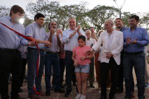 Passalacqua y Losada habilitaron el renovado «Parque Paraguayo»