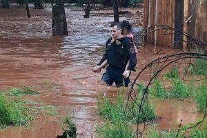 Temporal afectó la zona centro de la provincia, en Oberá hubo evacuados