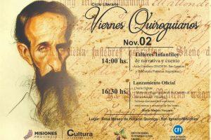 Con la presencia de una poeta sevillana, se inician los viernes quiroguianos en San Ignacio