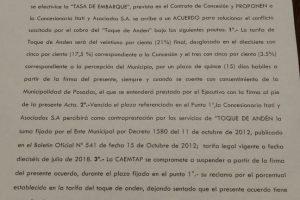 Acuerdo por el toque de andén destrabó el conflicto en la terminal de Posadas