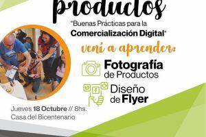 Enseñarán a fotografiar productos y a diseñar flyer para web en Alem