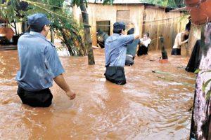 Solicitan la reubicación de las familiasque perdieron todo en la chacra 245