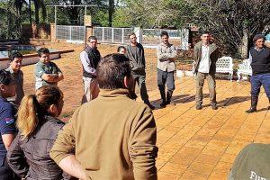 La EBY y la Fundación Temaikén capacitan contra incendios forestales