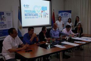 El IPS presentó el programa Nutrificarte
