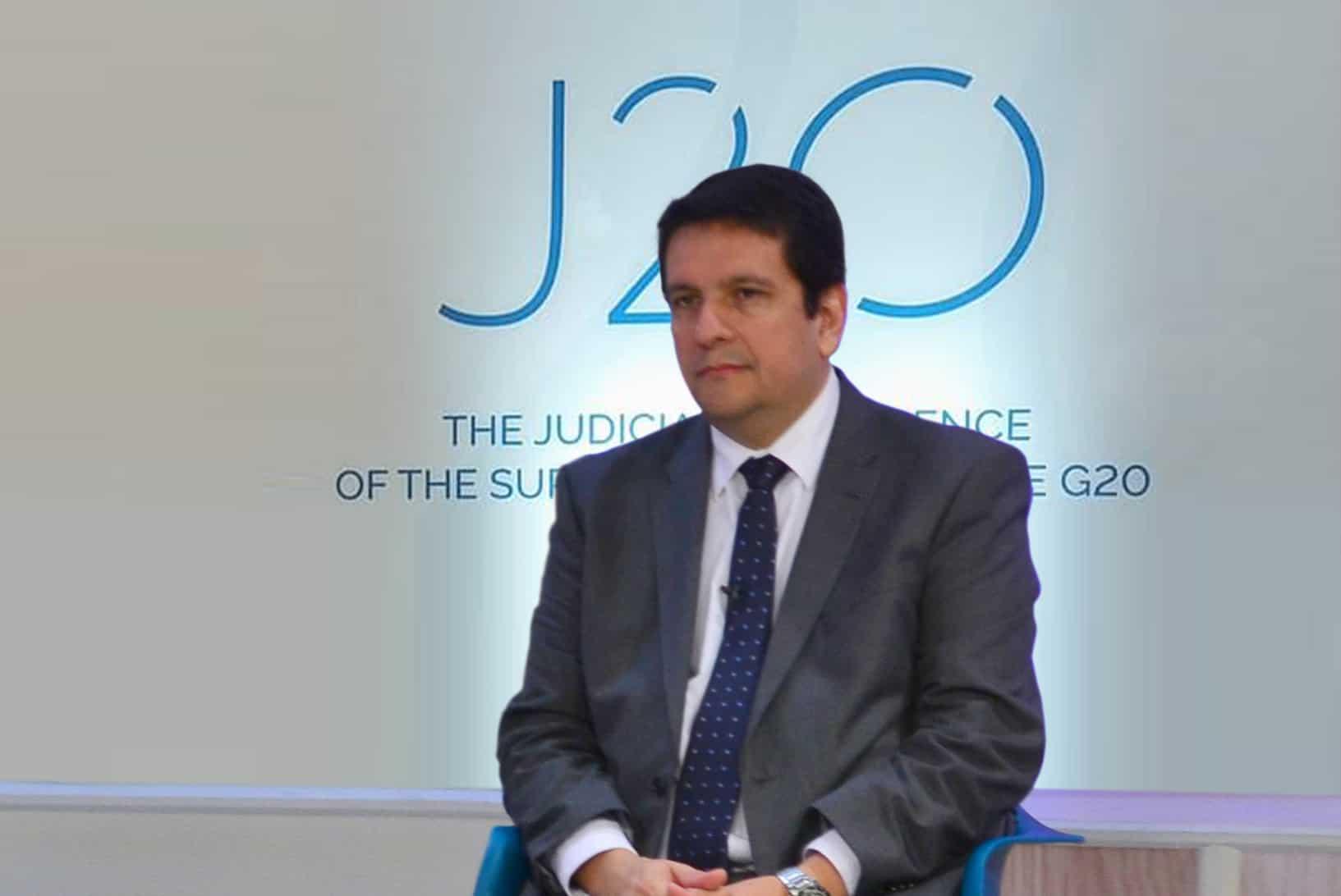 Ministros del STJ participaron del J20