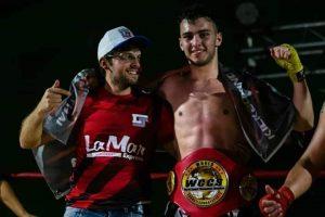 Mura es el nuevo campeón argentino amateur de kickboxing de la WCCS