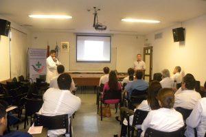 Por el Día Mundial de la lucha contra el Cáncer de Mama se realizaron actividades en el Hospital Escuela