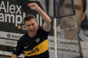 El fútbol como problema para Macri