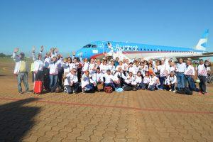 Misiones partió rumbo a los Juegos  Nacionales Evita para Adultos Mayores