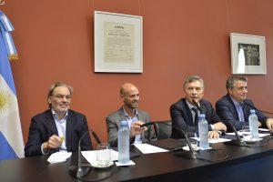 Macri y Etchevehere encabezaron una nueva mesa Foresto Industrial