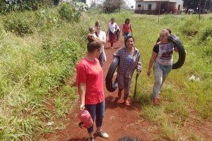 Pozo Azul: En la Comunidad Tekoa Arandú se inicia el Campamento Nacional de la Juventud