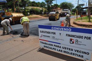 Vialidad mejora la red vial urbana de Posadas