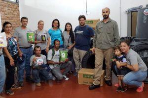 Entregaron herramientas y sistemas de riego a productores de la zona capital