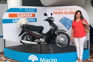 Banco Macro continúa entregando premios por consumos con tarjeta de Débito