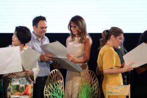 G20: Melania Trump se llevó de regalo una obra de arte del misionero Andrés Paredes