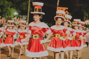 Multitudinaria apertura de la Fiesta Nacional de la Navidad en Alem