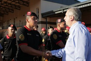 Passalacqua inauguró el cuerpo de bomberos y la seccional 19 de Policía en Itaembé Guazú