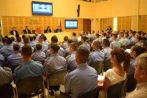 Comenzó el seminario Internacional sobre Seguridad Contemporánea
