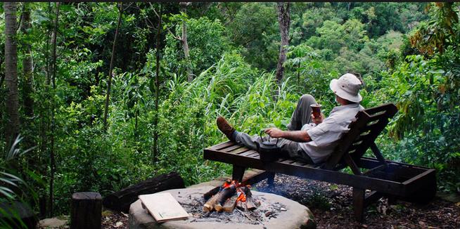 Entre el cielo y la tierra: Tacuapí, el Lodge de la Selva