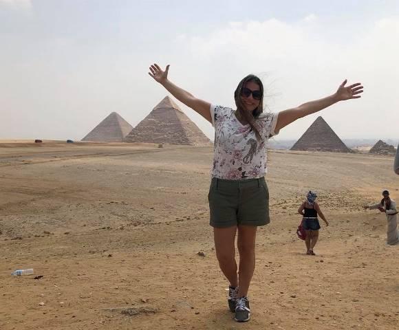 """Carolina Mazza: """"La gente reconoce que viajar es una de las mejores experiencias de la vida"""""""
