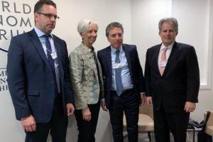 Reunión con Dujovne: Lagarde festejó «la sólida implementación del plan de estabilización»
