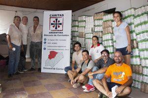Pequeñas cooperativas donaron 6000 kilos de yerba para familias afectadas por inundaciones en Corrientes
