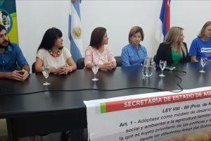 Presentaron el ciclo de talleres y encuentros de Mujeres de la Agricultura Familiar y Soberanía Alimentaria