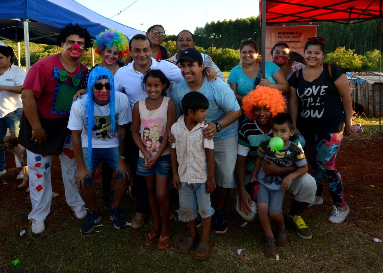Herrera Ahuad participó de las actividades del programa «barrios activos» en Posadas