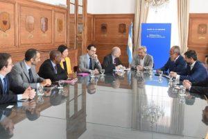 FMI repasó con Frigerio la situación fiscal de las provincias