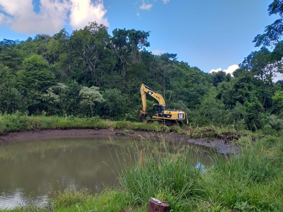 Construyen reservorios de agua en Almafuerte