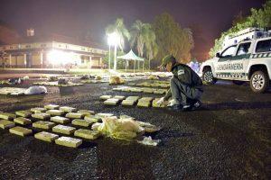 Gendarmería incautó 3 toneladas de marihuana en dos procedimientos