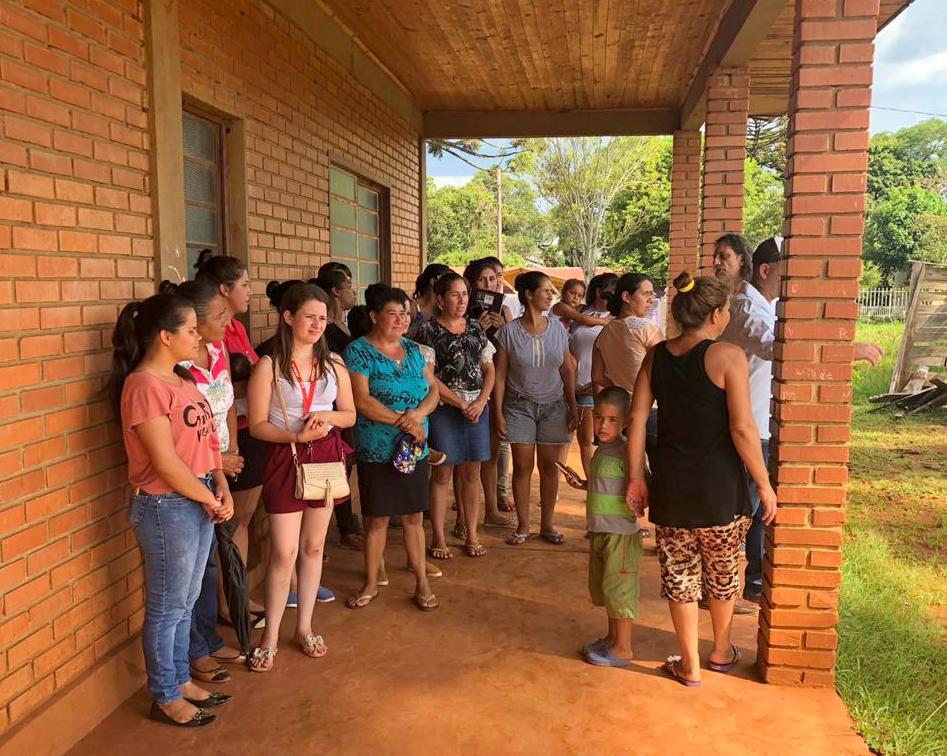 Irigoyen: Reclaman agua para la escuela, caminos, puente y alumbrado público de la colonia Campiñas