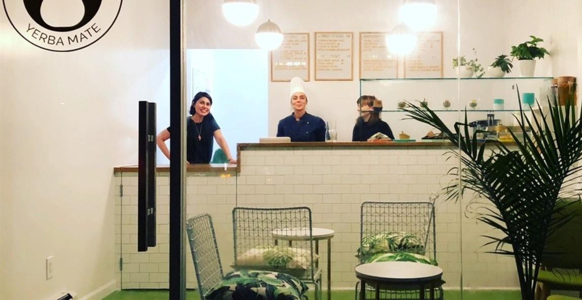 Tres argentinas inauguran el primer mate bar en Nueva York